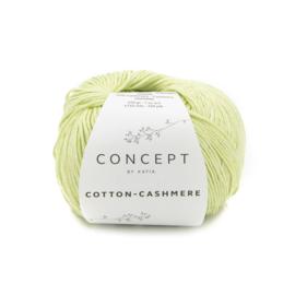 Katia Cotton Cashmere - 76 Pistache