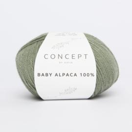 Katia Concept - Baby Alpaca 100% - 510 Kaki