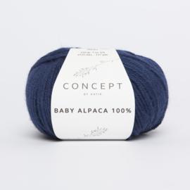 Katia Concept - Baby Alpaca 100% - 517 Donker blauw