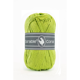 Durable Coral Katoen - 2146 Yellow Green