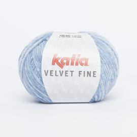 Katia Velvet Fine - 205 Licht hemelsblauw