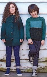 Donderdag 01-02-2018 Katia Shadow meisjesvest en Merino Lino jongenstrui