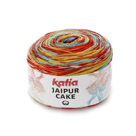 Katia Jaipur Cake - 407 Oranje - Groen - Turquoise - Geel