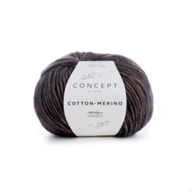 Katia Concept - Cotton-Merino 051 Beige-Zwart