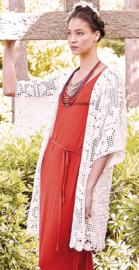 ROWAN Summerlite 4ply gehaakt Vest Hiyama