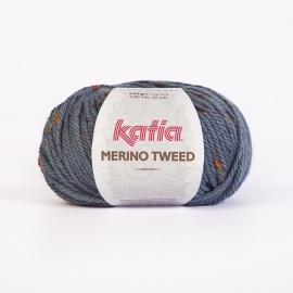 Katia Merino Tweed - 405 Blauw