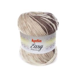 Katia Easy Jacquard - 302 Bruin-Beige