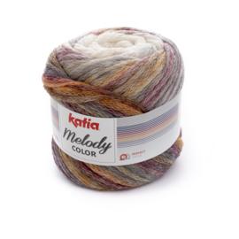 Katia Melody Color - 300 Ecru - Rood