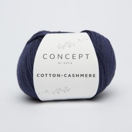 Katia Cotton Cashmere - 62 Donker blauw