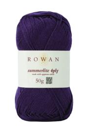 Rowan Summerlite 4ply - 432 Aubergine