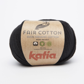 Katia Fair Cotton - 02 Zwart