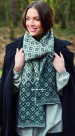 ROWAN Alpaca Soft DK Sjaal Lattice