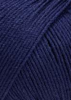 LANG Yarns - Merino 130 Compact - 0035 Donkerblauw