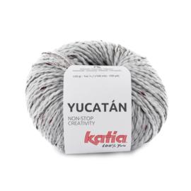 Katia Yucatan 84 Parelmoer - Lichtgrijs