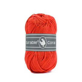 Durable Coral Katoen - 2193 Grenadine