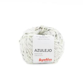 Katia Azulejo 303 - Ecru - Bleekgroen - Pastel