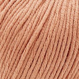 Katia Cotton 100% - 62 Licht Roestbruin