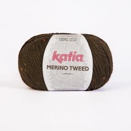 Katia Merino Tweed - 408 Donker Bruin