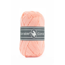 Durable Coral Katoen - 211 Peach