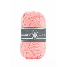 Durable Coral Katoen - 386 Rosa