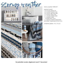 Crochet Along 2019 - Complications Vierkant Stormy Weather