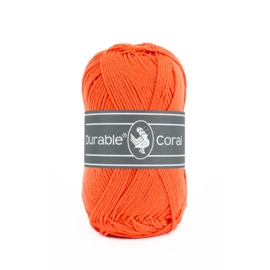 Durable Coral Katoen - 2194 Orange