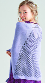 Rowan Silky Lace Omslagdoek Georgette