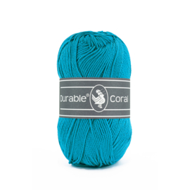 Durable Coral Katoen - 371 Turquoise