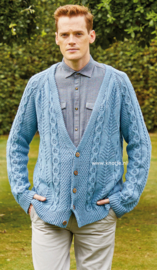 ROWAN Handknit Cotton Vest Clayton