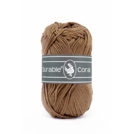Durable Coral Katoen - 2218 Hazelnut