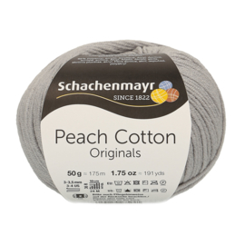 Schachenmayr - Peach Cotton 00190 Zilver