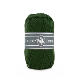 Durable Coral Katoen - 2150 Forest Green