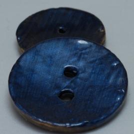 Kokos Knoop Vintage Blauw