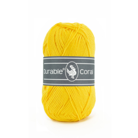 Durable Coral Katoen - 2180 Bright Yellow