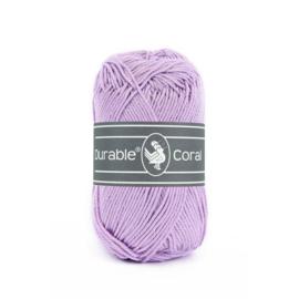 Durable Coral Katoen - 396 Lavender