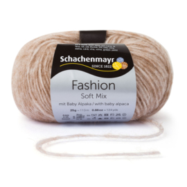 Schachenmayr Soft Mix met Baby Alpaca 00010 Kamel