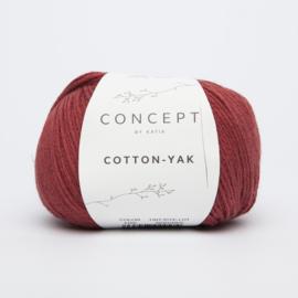 Katia Concept - Cotton-Yak - 105 Rood