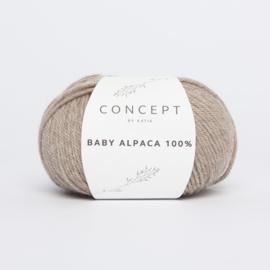 Katia Concept - Baby Alpaca 100% - 502 Steengrijs