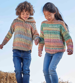 Katia Cotton-Merino Craft Kindertruien
