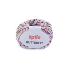 Katia Butterfly - 81 Rood - Pistache