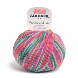Adriafil - New Zealand Print - 46 Bright Multicolour