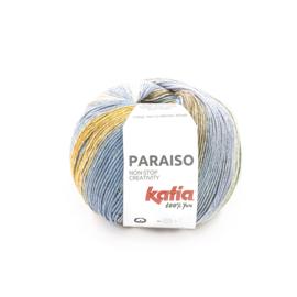 Katia Paraiso - 104 Kaki - Beige - Blauw