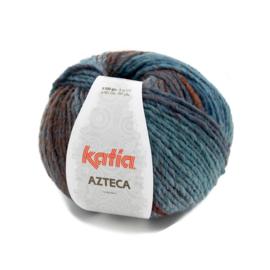 Katia Azteca 7872 Blauw-Roestbruin-Bruin