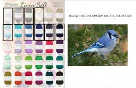 Cal 2015 Blue Jay pakket (15 bollen Linen-Soft)