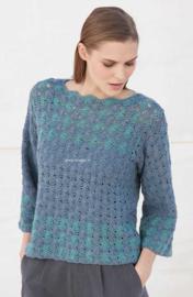 Zondag 24-12-2017 Katia Concept Silky Lace gehaakte Trui