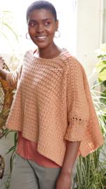 ROWAN Cotton Cashmere gehaakte Trui Sorrento
