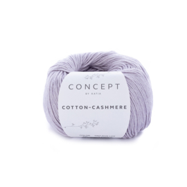 Katia Cotton Cashmere - 68 Licht Medium Paars