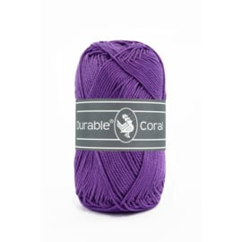Durable Coral Katoen - 270 Purple