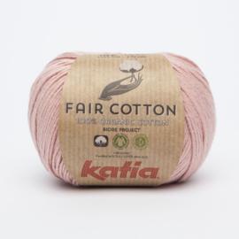 Katia Fair Cotton - 13 Lichtroze