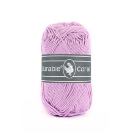 Durable Coral Katoen - 261 Lilac